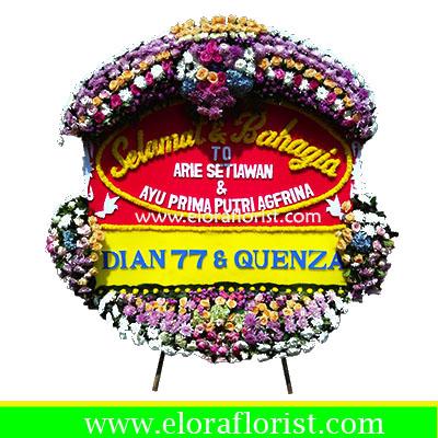 Bunga Papan Wedding EJKTW-029