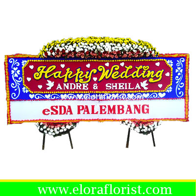 Bunga Papan Wedding EJKTW-030