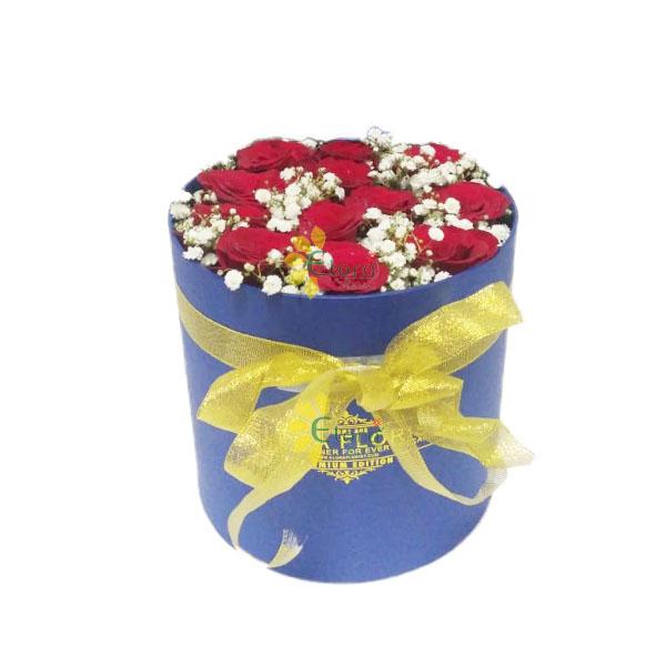jual bloom box mawar merah
