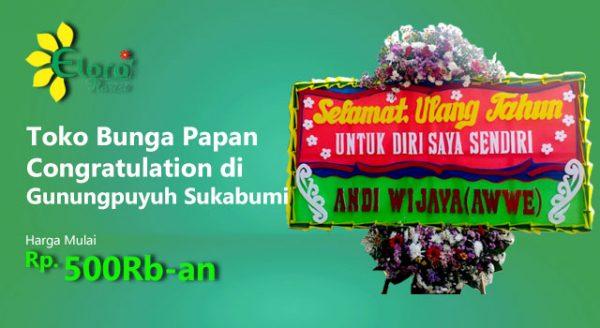 Gambar Papan Congratulation Gunungpuyuh