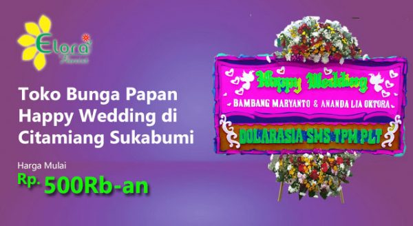 Gambar Papan Wedding Citamiang
