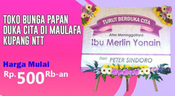 Toko Bunga Papan Duka Cita di Maulafa Kupang Nusa Tenggara Timur