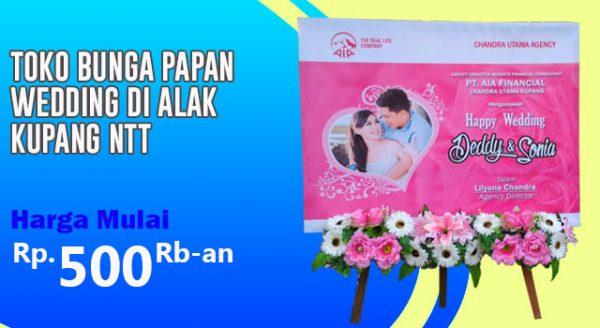 Toko Bunga Papan Wedding di Alak Kupang Nusa Tenggara Timur