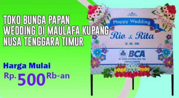 Toko Bunga Papan wedding di Maulafa Kupang Nusa Tenggara Timur